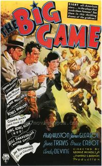 The Big Game - 43 x 62 Movie Poster - Bus Shelter Style A