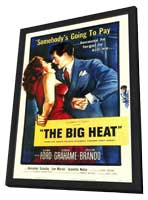 The Big Heat - 11 x 17 Movie Poster - Style A - in Deluxe Wood Frame