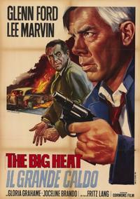 The Big Heat - 11 x 17 Movie Poster - Italian Style D