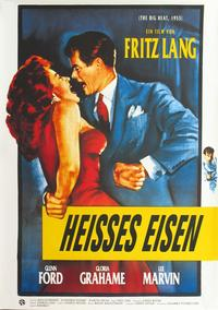 The Big Heat - 11 x 17 Movie Poster - German Style A