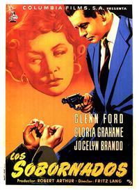 The Big Heat - 27 x 40 Movie Poster - Spanish Style B