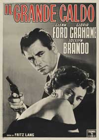 The Big Heat - 11 x 17 Movie Poster - Italian Style B
