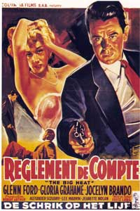 The Big Heat - 11 x 17 Movie Poster - Spanish Style E