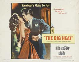 The Big Heat - 22 x 28 Movie Poster - Half Sheet Style B
