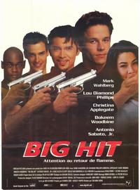 The Big Hit - 47 x 62 Movie Poster - French Style A