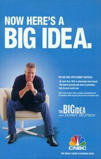 The Big Idea with Donny Deutsch - 11 x 17 TV Poster - Style A