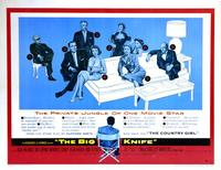 The Big Knife - 43 x 62 Movie Poster - Bus Shelter Style A