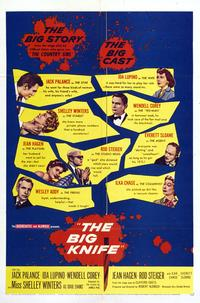 The Big Knife - 11 x 17 Movie Poster - Style B