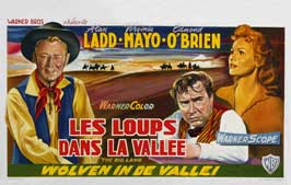 The Big Land - 11 x 17 Movie Poster - Belgian Style A