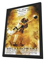 The Big Lebowski - 27 x 40 Movie Poster - Style A - in Deluxe Wood Frame