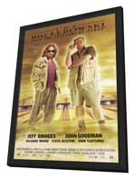 The Big Lebowski - 27 x 40 Movie Poster - Style B - in Deluxe Wood Frame