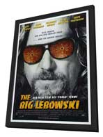 The Big Lebowski - 27 x 40 Movie Poster - Style D - in Deluxe Wood Frame