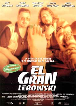 The Big Lebowski - 43 x 62 Movie Poster - Spanish Style A
