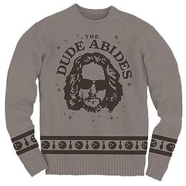 The Big Lebowski - Dude Abides Knit Sweatshirt