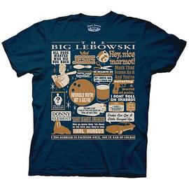 The Big Lebowski - The Quote Mash-Up T-Shirt