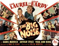 The Big Noise - 22 x 28 Movie Poster - Half Sheet Style A
