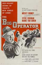 The Big Operator - 27 x 40 Movie Poster - Style B