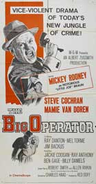 The Big Operator - 20 x 40 Movie Poster - Style A