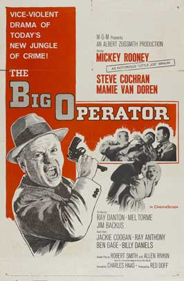 The Big Operator - 11 x 17 Movie Poster - Style B