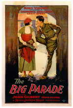 The Big Parade - 27 x 40 Movie Poster - Style A