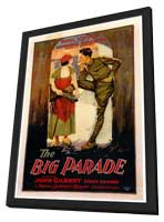 The Big Parade - 27 x 40 Movie Poster - Style A - in Deluxe Wood Frame