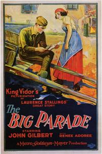 The Big Parade - 11 x 17 Movie Poster - Style B
