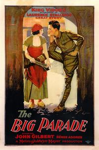 The Big Parade - 43 x 62 Movie Poster - Bus Shelter Style A