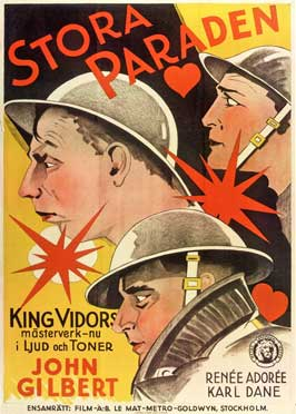 The Big Parade - 11 x 17 Movie Poster - Swedish Style A