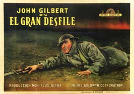 The Big Parade - 11 x 17 Movie Poster - Spanish Style A