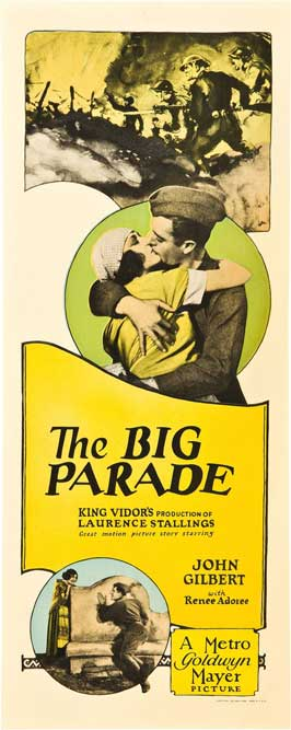 The Big Parade - 14 x 36 Movie Poster - Insert Style A