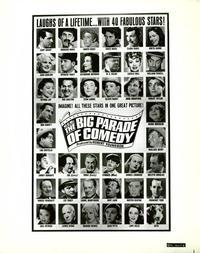 The Big Parade of Comedy - 8 x 10 B&W Photo #9