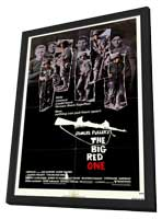 The Big Red One - 27 x 40 Movie Poster - Style A - in Deluxe Wood Frame