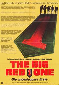 The Big Red One - 11 x 17 Movie Poster - German Style A