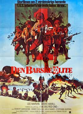 The Big Red One - 11 x 17 Movie Poster - Danish Style A