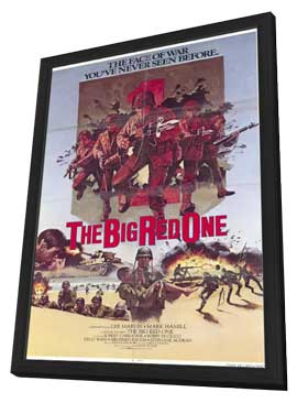 The Big Red One - 11 x 17 Movie Poster - Style C - in Deluxe Wood Frame