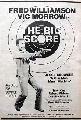 The Big Score - 11 x 17 Movie Poster - Style B