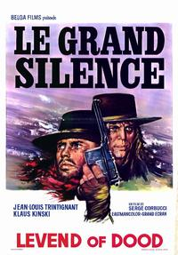 Big Silence - 11 x 17 Movie Poster - Belgian Style A