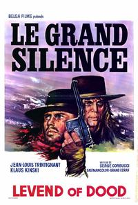 Big Silence - 27 x 40 Movie Poster - Belgian Style A