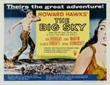 The Big Sky - 22 x 28 Movie Poster - Half Sheet Style B