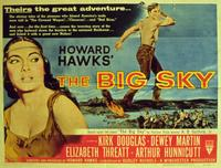 The Big Sky - 11 x 14 Movie Poster - Style A