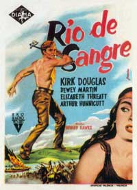 The Big Sky - 11 x 17 Movie Poster - Spanish Style A