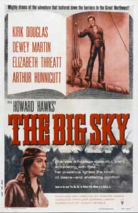 The Big Sky - 27 x 40 Movie Poster - Style B