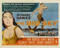 The Big Sky - 22 x 28 Movie Poster - Half Sheet Style A