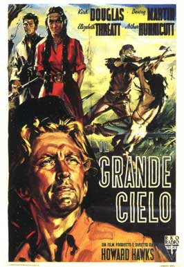 The Big Sky - 11 x 17 Movie Poster - Italian Style A