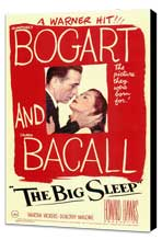 The Big Sleep - 11 x 17 Movie Poster - Style A - Museum Wrapped Canvas