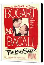 The Big Sleep - 27 x 40 Movie Poster - Style A - Museum Wrapped Canvas