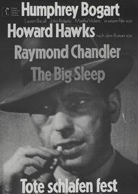 The Big Sleep - 11 x 17 Movie Poster - German Style D