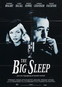 The Big Sleep - 11 x 17 Movie Poster - Swiss Style D
