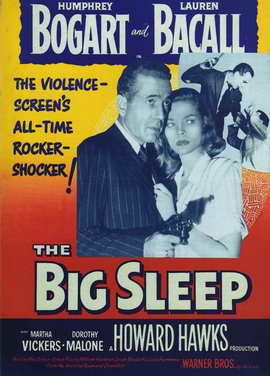 The Big Sleep - 11 x 17 Movie Poster - Style G