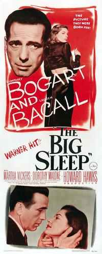 The Big Sleep - 14 x 36 Movie Poster - Insert Style B